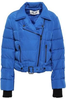 Diane von Furstenberg Quilted Shell Down Jacket