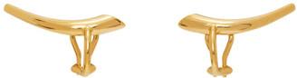 Charlotte Chesnais Gold Helix Clip-On Earrings