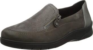 ara Women's Meran 1241024 Loafers Grey (Street Piombo 75) 4 UK