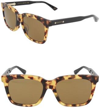 Gucci 62mm Square Sunglasses
