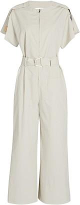 3.1 Phillip Lim Short Sleeve Cut-Out Jumpsuit