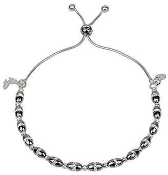 Vamp London Vamp Chic Bold Black Sterling Silver Bracelet VCB029-OX