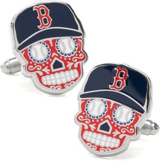 Cufflinks Inc. Boston Red Sox Sugar Skull Cuff Links