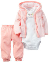 Carter's 3-Piece Babysoft Cardigan Set
