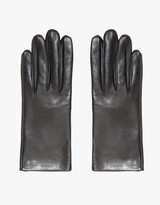 Italian Leather Glove in Black
