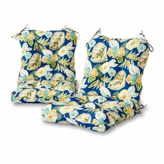 Marlow Greendale Home Fashions Floral Indoor/Outdoor Lounge Chair Cushion Greendale Home Fashions