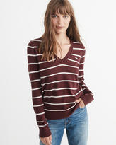 Abercrombie & Fitch Icon V-Neck Sweater