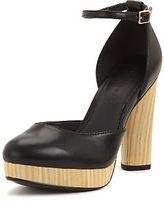 Shoebox Shoe Box Ivy Ankle Strap Platform Shoes
