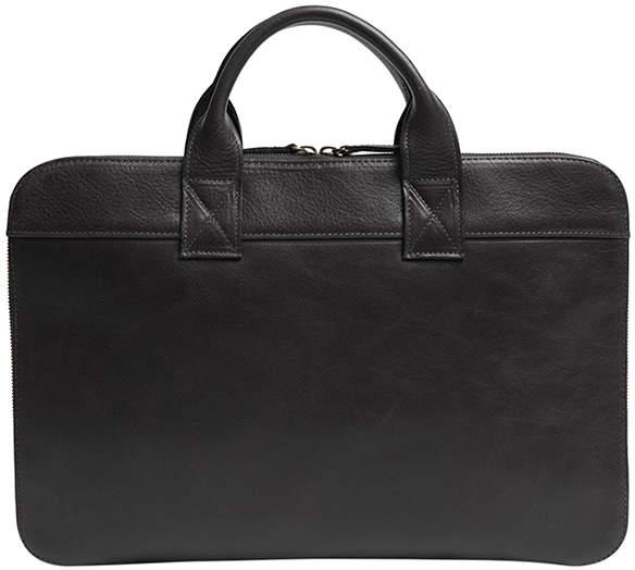 "Moore & Giles Fine Leather Slim Portfolio Bag ""Frances"""