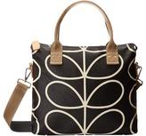 Orla Kiely Zip Messenger Satchel Handbags