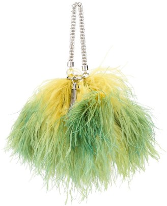 Jimmy Choo Callie feather tote