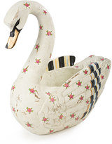 Mackenzie Childs MacKenzie-Childs Swan Centerpiece