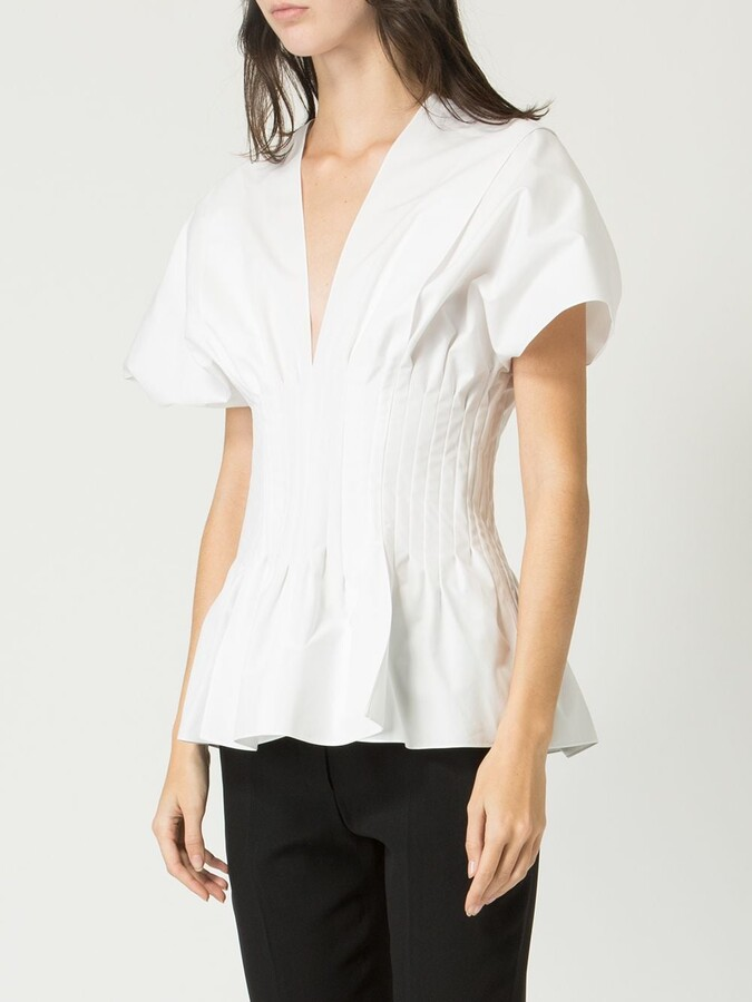 Thumbnail for your product : Maison Rabih Kayrouz Ruched Waist Blouse