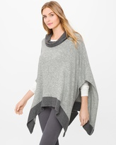 White House Black Market Knit Poncho