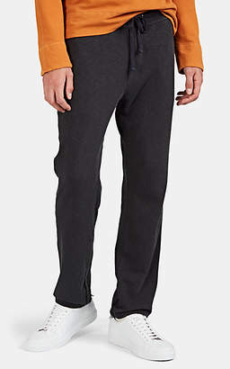 James Perse Men's Cotton French Terry Drawstring Sweatpants - Black