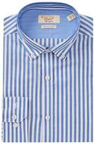 Original Penguin Bengal Stripe Trim Fit Dress Shirt