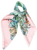 Hermes Au Coeur De La Vie Silk Scarf