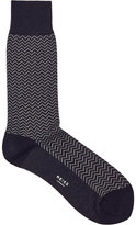 Reiss Andre Patterned Socks