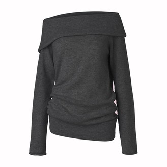 Care By Me - Sif Sweater Dark Grey - Grey / Medium