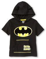 Batman Toddler Boys' Hooded Costume Tee
