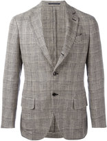 Mp Massimo Piombo - striped unconstructed blazer - men - Silk/Cotton/Linen/Flax - 46