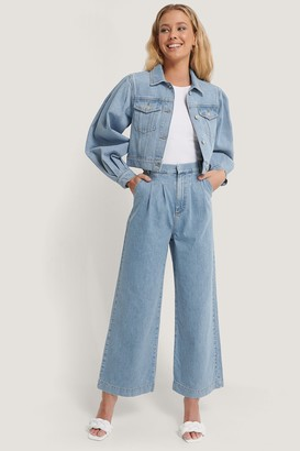 Annais X NA-KD Tailored Denim Pants