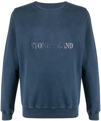 Stone Island Logo Crewneck Jumper