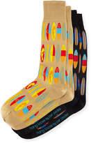 Per Pedes Two-Pair Hang Loose Sock Set