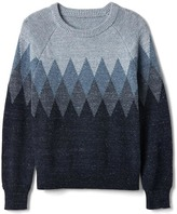 Gap Diamond knit pullover sweater