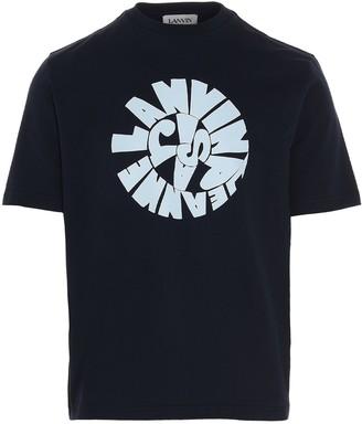 Lanvin Spiral Logo Printed T-Shirt