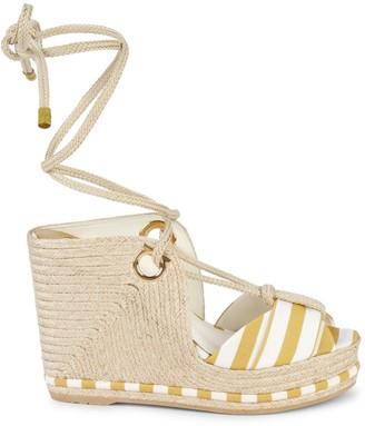 Salvatore Ferragamo Evita 8 Platform Sandals