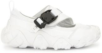 adidas Buckle-Fastening Oversize-Sole Sandals