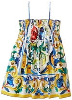 Dolce & Gabbana Escape Sleeveless Dress (Toddler/Little Kids)