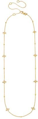 Sethi Couture Arya Diamond Cross Station Necklace