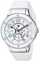 "Tommy Hilfiger Women's 1781310 ""Sport Lux"" Stainless Steel Crystal-Accented Watch"