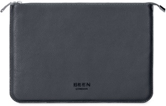 Been London Dalston Laptop Case 15' In Black Sand