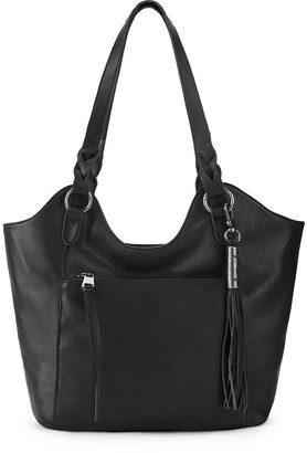 The Sak Sierra Leather Shopper Bag