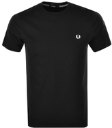 Fred Perry Crew Neck T Shirt Black