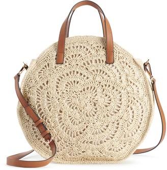 Lauren Conrad Cookie Crochet Crossbody Bag