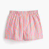 J.Crew Red striped boxers