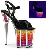 Pleaser USA Women's Flam809srs/b/Nmc Platform Sandal