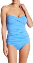Tommy Bahama Pearl Bandeau One-Piece Swimsuit