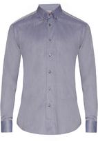 Brioni Button-down collar cotton shirt