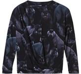 Molo Moonlit Panther Print Rica Sweatshirt