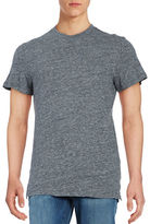 Selected Cotton Jersey Knit Short-Sleeve Tee