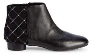 Karl Lagerfeld Paris Fauna Round Toe Booties