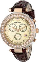 Tommy Bahama Swiss Women's TB2160 Savanah Analog Display Japanese Quartz Brown Watch