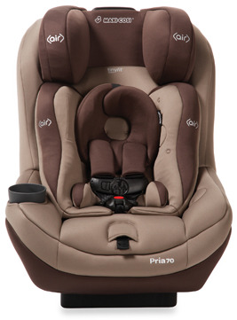 Maxi-Cosi Pria 70 Convertible Car Seat with Tiny Fit - Walnut Brown