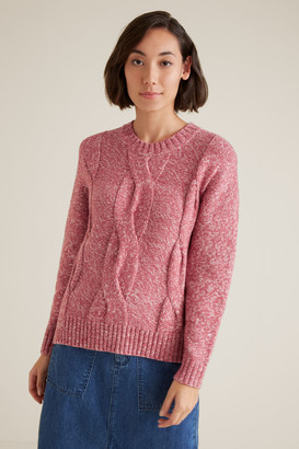 Seed Heritage Chunky Cable Knit Sweater