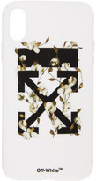 Off-White Off White White Cotton Arrows iPhone XR Case